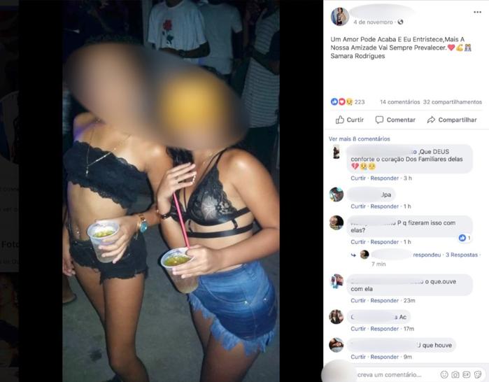 Vítimas de 11 e 12 anos foram encontradas mortas em uma estrada em Casimiro de Abreu, no RJ (Crédito: Reprodução | Redes Sociais )