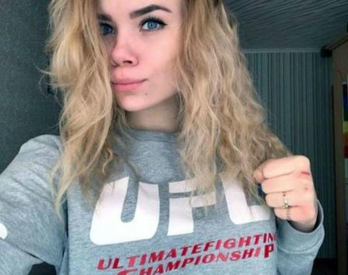 Irina Rybnikova, de 15 anos,