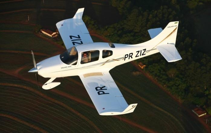 Volato 400 produzido na fábrica da empresa em Bauru (Crédito: Divulgação)