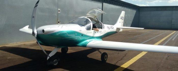 Avião elétrico desenvolvido pela ACS Aviation (Crédito: Divulgação)