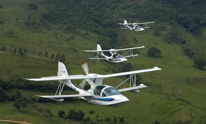 Avião anfíbio Super Petrel LS, da Scoda Aeronáutica (Crédito: Divulgação)
