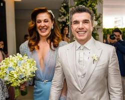 Confira os looks do casamento de Claudia Raia e Jarbas de Mello