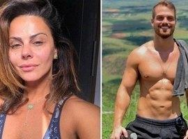 Aos 43, Viviane Araújo é vista aos beijos com engenheiro de 28 anos