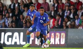 Jorge comemora sua estreia no time do Porto contra o  Galatasaray