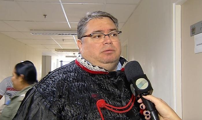 Promotor de Justiça, Régis Marinho (Crédito: Reprodução/TVMN)