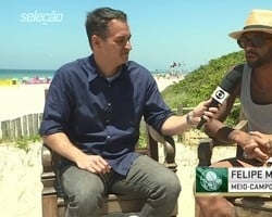 'Tenho um ano de contrato com o Palmeiras'