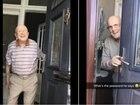 Avô faz recepção calorosa a neta em casa e vídeo viraliza; assista