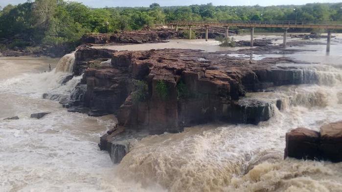 Cachoeira já derrama forte em dezembro (Crédito: Divulgação)