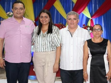 Prefeito e secretário participam de formaturas na zona rural