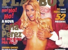 Morre Papai Noel que dividiu capa da Playboy com Carla Perez