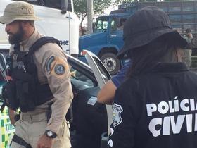 Polícia realiza operação e fecha pontes que ligam PI ao MA