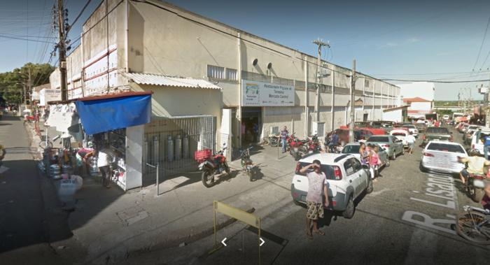 Mercado Central de Teresina (Crédito: Reprodução/Google)
