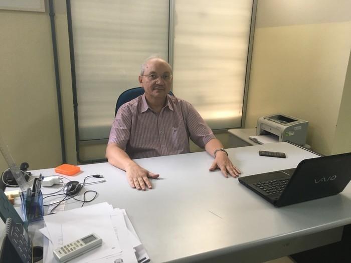 Secretário municipal de Finanças, Francisco Canindé (Crédito: Divulgação/Ascom)