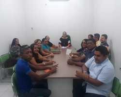 Diretoria do SINTERPUM tem reunião com Secretária de Educação