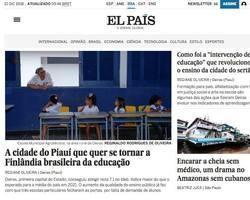 Imprensa nacional repercute bom desempenho da educação de Oeiras