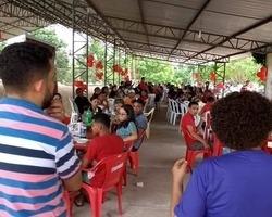 Vice governadora Regina Sousa prestigia confraternização do PT