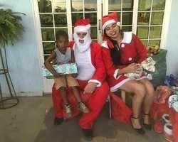 Prefeito e primeira-dama realizam natal das crianças