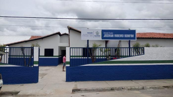 Unidade Escolar Josivan Ribeiro Bonfim foi reformada e ampliada
