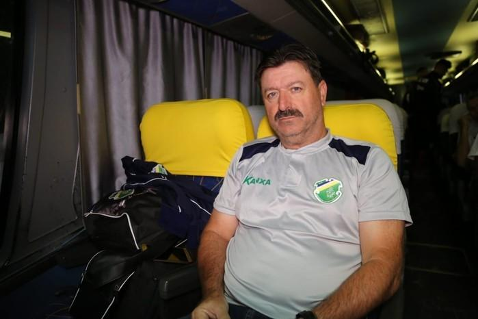 Leandro Campos novo técnico do Altos-PI (Crédito: Luis Junior/A.A.Altos)