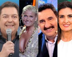 Conheça os apresentadores mais bem pagos da TV brasileira em 2018
