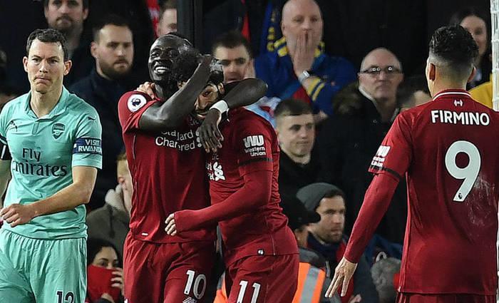 Liverpool está na liderança  com 9 pontos  de vantagem do segundo colocado (Crédito: Reprodução/Paul Ellis/AFP)