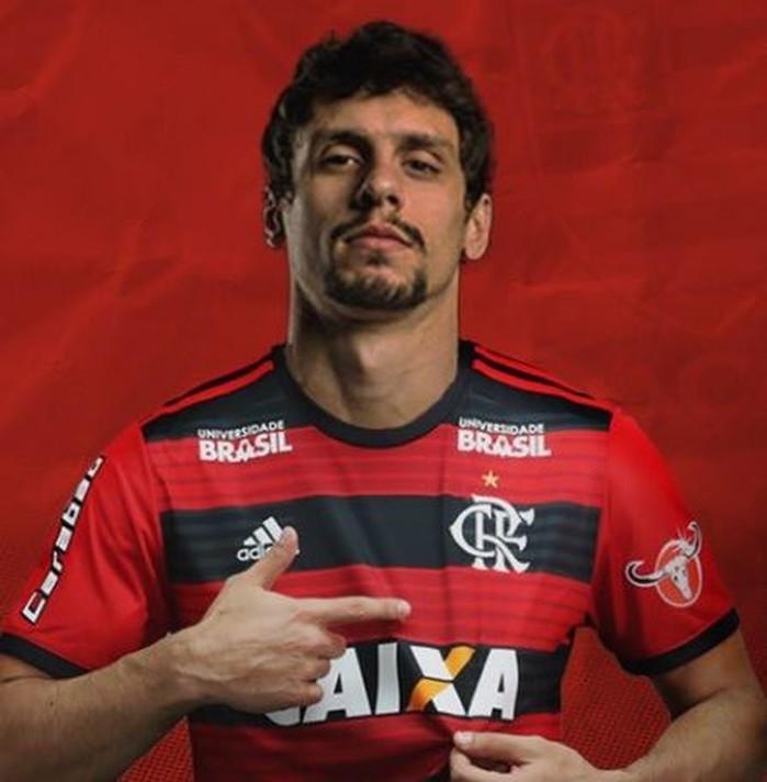Rodrigo Caio é primeiro reforço do Flamengo para 2019 (Crédito: Reprodução)