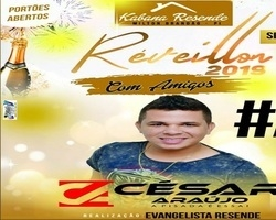 Evangelista Resende promoverá na virada de ano Réveillon com Amigos