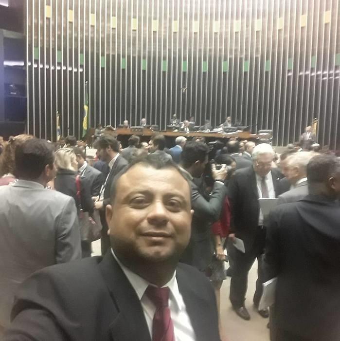 Visita ao Congresso Nacional, convidado pela ABRACAM.