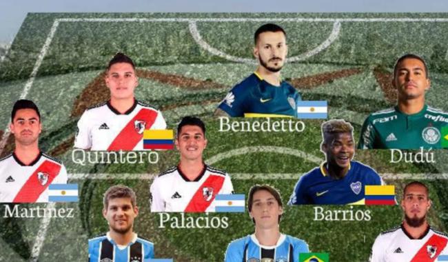 Dudu e Geromel são escolhidos na seleção da América do Sul de 2018