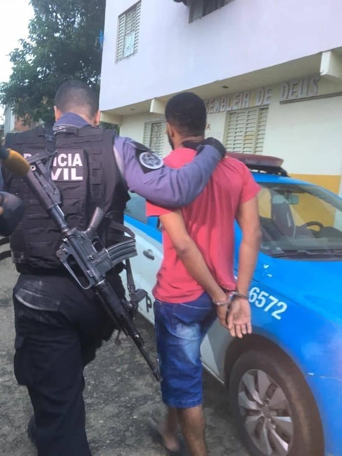 Operação cumpre mandados de prisão contra o tráfico em Itaperuna  (Crédito: Éder Souza/Inter TV)