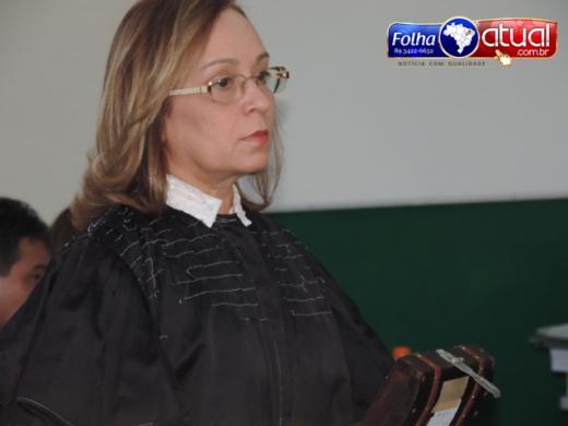 Juíza Nilcimar Rodrigues de Araújo Carvalho (Crédito: Reprodução/Folha Atual)