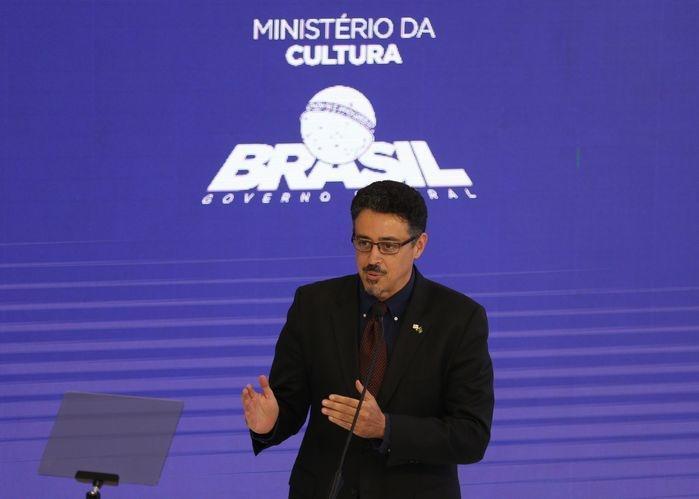 Ministro Sérgio Sá Leitão (Crédito: Wilson Dias / Agência Brasil )