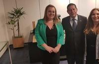 Vice-presidente dá apoio a causa de advogada piauiense