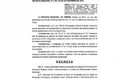 Prefeito de Piripiri exonera servidores comissionados
