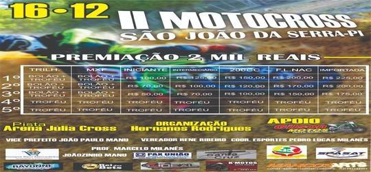 II Motocross para agitar São João da Serra