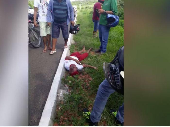 Bruno dos Santos Silva foi baleado na cabeça ao tentar assaltar van (Crédito: Reprodução)