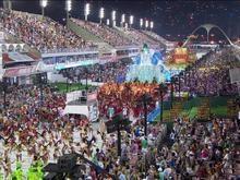 Confira o 1° dia de desfiles das escolas de samba no Rio de Janeiro