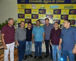Prefeitos prestigiam aniversário de 22 anos de Lagoa do Piauí