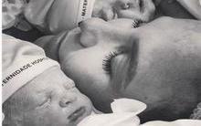 Marido de Ivete divulga a primeira foto das gêmeas Helena e Maria