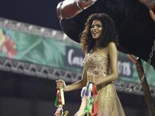 Piauiense Monalysa Alcântara é destaque no 2° dia do Carnaval de SP
