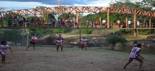 Torneio são realizados pela prefeitura nas areias do balneário