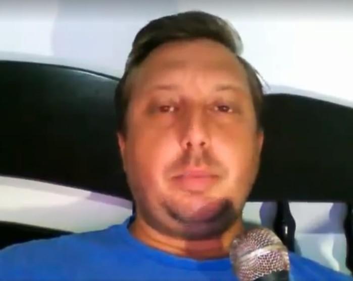 Pastor publicou um vídeo nas redes sociais explicando o que aconteceu