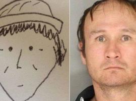 'Pior retrato falado' do mundo ajuda a prender suspeito de roubos