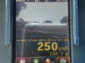 Médico e amigos são presos após atingirem 250 km/h em 'racha'