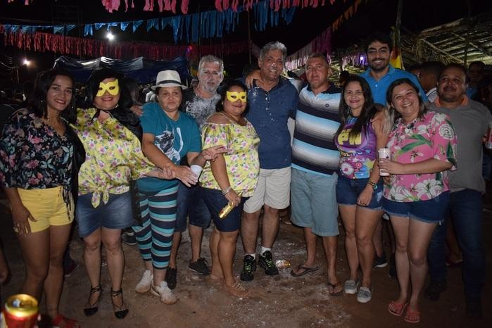 Integração entre amigos no Paiol Folia (Crédito: Wagner Medeiros)