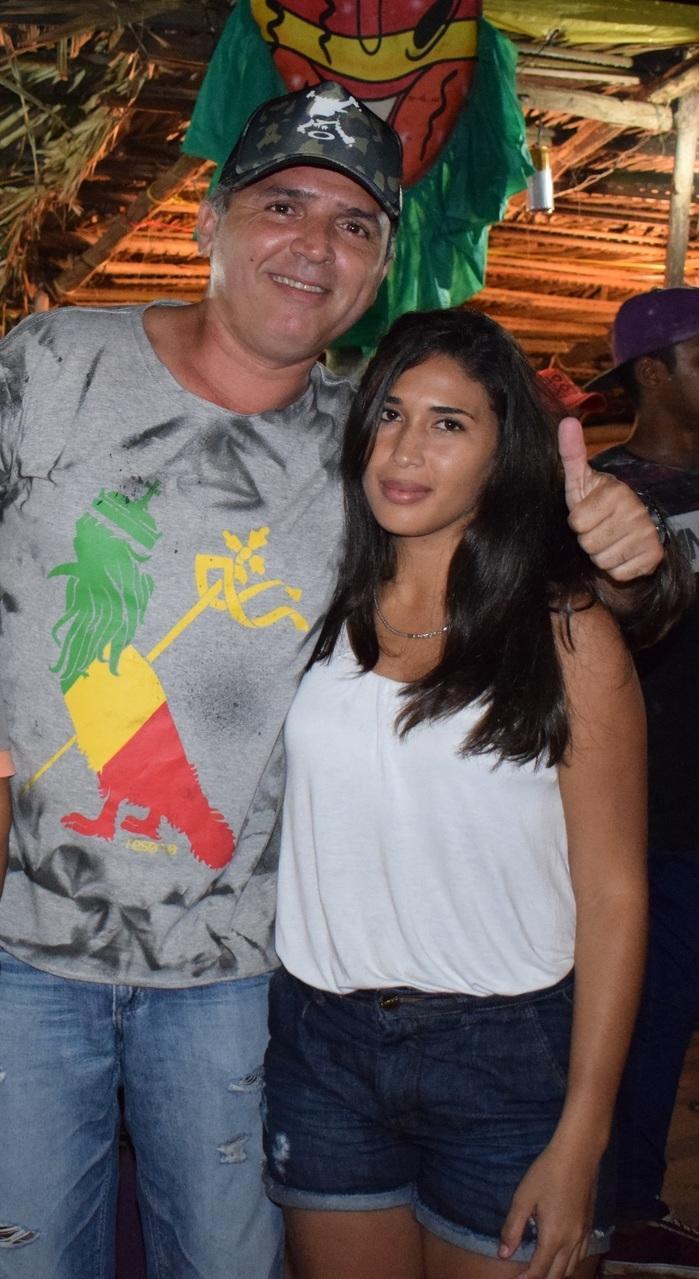 Luiz Ribeiro e sua Esposa Railana (Crédito: Wagner Medeiros e Aristeu)
