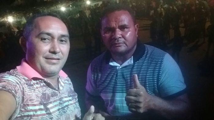 Aristeu Carvalho e César Augusto sintonizados na parceria (Crédito: Wagner Medeiros)