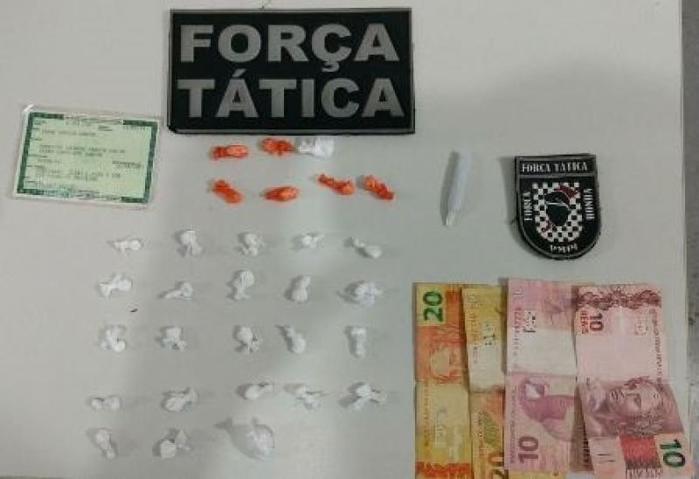 Droga apreendida em Picos (Crédito: Polícia Militar)