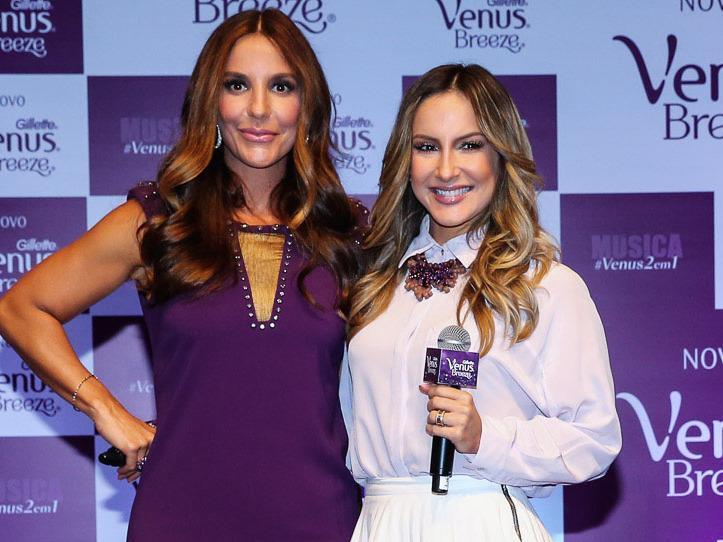 Claudia Leitte revela à revista que fala de sexo com Ivete Sangalo