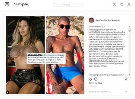 Valesca Popozuda foi atacada em rede social